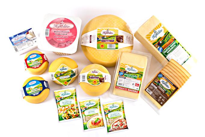 Todos los quesos gallegos de gran calidad que Hipóloito Bretón ofrece en los mejores supermercados y cadenas de distribución